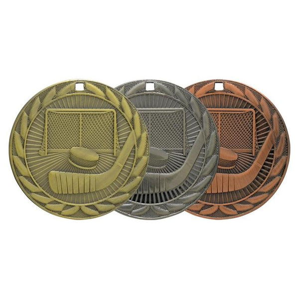 hockey iron medal-D&G Trophies Inc.-D and G Trophies Inc.