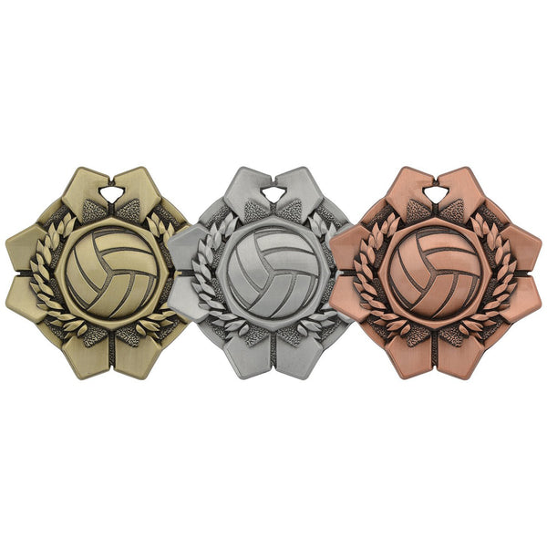 imperial medal volleyball-D&G Trophies Inc.-D and G Trophies Inc.