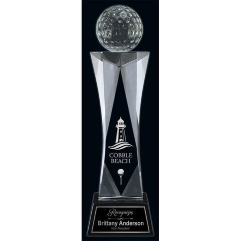 Indian Wells Optic Crystal Award-D&G Trophies Inc.-D and G Trophies Inc.