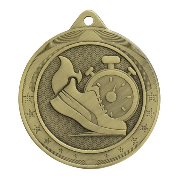 iron legacy medal track-D&G Trophies Inc.-D and G Trophies Inc.