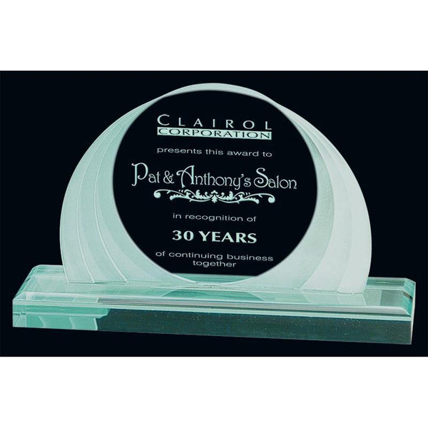 Jade Sunset Acrylic Award-D&G Trophies Inc.-D and G Trophies Inc.