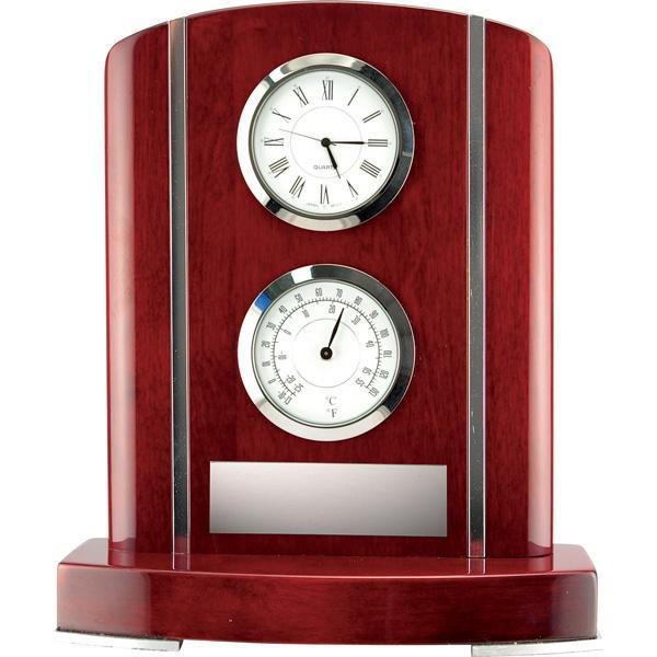 kettelby rosewood weather station giftware-D&G Trophies Inc.-D and G Trophies Inc.