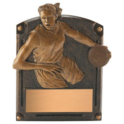 legends of fame basketball resin trophy-D&G Trophies Inc.-D and G Trophies Inc.