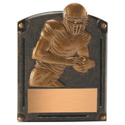 legends of fame football resin trophy-D&G Trophies Inc.-D and G Trophies Inc.