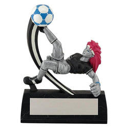 manga soccer resin trophy-D&G Trophies Inc.-D and G Trophies Inc.