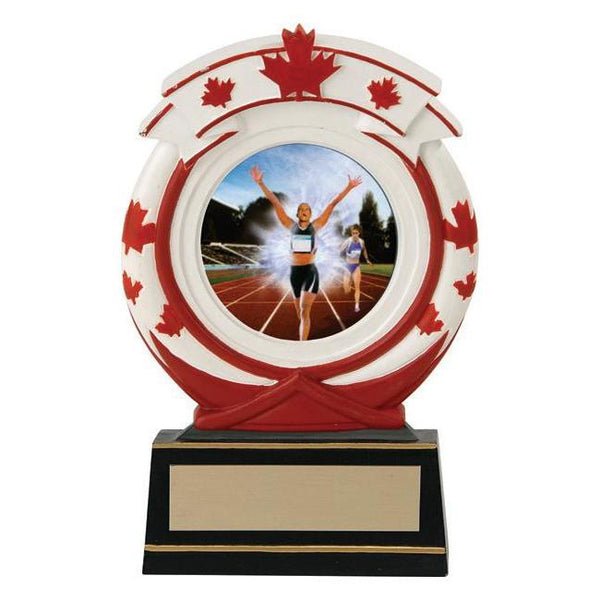 "Maple Leaf 2"" Insert Holder Resin-D&G Trophies Inc.-D and G Trophies Inc."