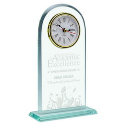 meadowbrook glass clock giftware-D&G Trophies Inc.-D and G Trophies Inc.