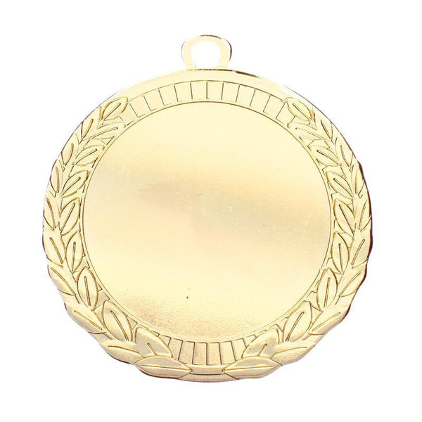 "Medal 2"" Insert Iron Wreath, Bright-D&G Trophies Inc.-D and G Trophies Inc."