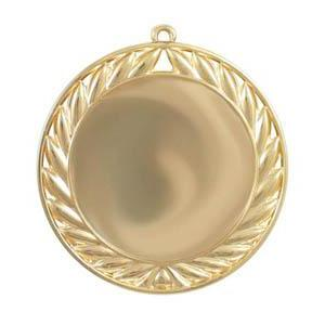 Medal 50mm Insert Laurel, Bright-D&G Trophies Inc.-D and G Trophies Inc.
