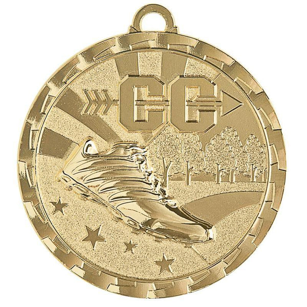 "Medal Brite Cross Country 2"" Dia.-D&G Trophies Inc.-D and G Trophies Inc."