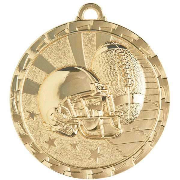 "Medal Brite Football 2"" Dia.-D&G Trophies Inc.-D and G Trophies Inc."