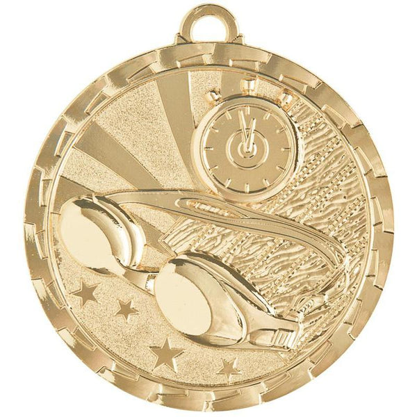 "Medal Brite Swimming 2"" Dia.-D&G Trophies Inc.-D and G Trophies Inc."