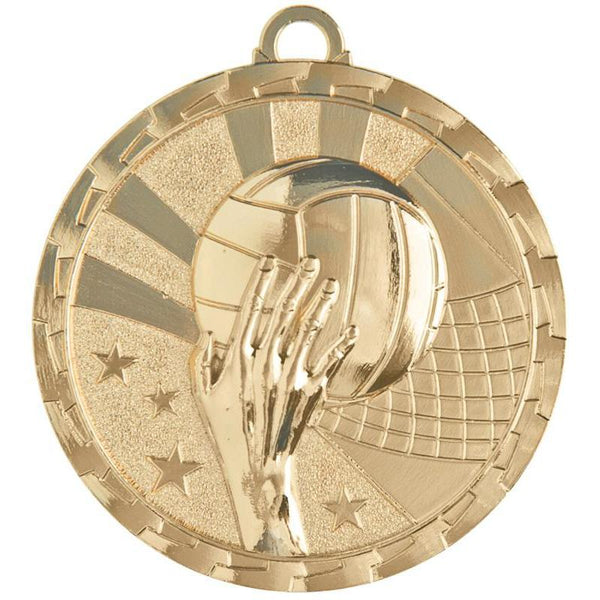 "Medal Brite Volleyball 2"" Dia.-D&G Trophies Inc.-D and G Trophies Inc."