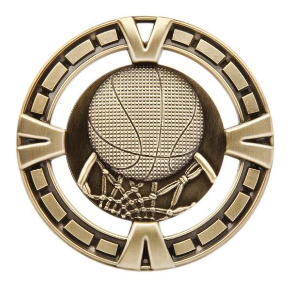 "Medal Sport 2.5"" Basketball-D&G Trophies Inc.-D and G Trophies Inc."