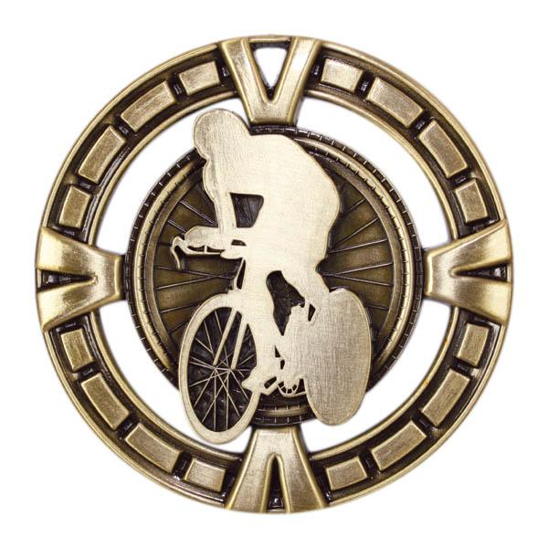 "Medal Sport 2.5"" Cycling-D&G Trophies Inc.-D and G Trophies Inc."