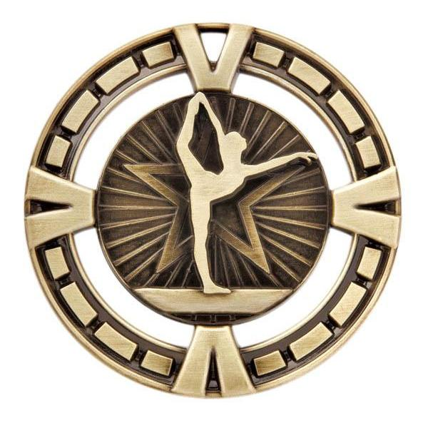 "Medal Sport 2.5"" Gymnastics-D&G Trophies Inc.-D and G Trophies Inc."