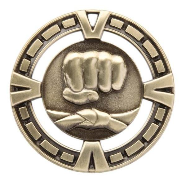 "Medal Sport 2.5"" Martial Arts-D&G Trophies Inc.-D and G Trophies Inc."