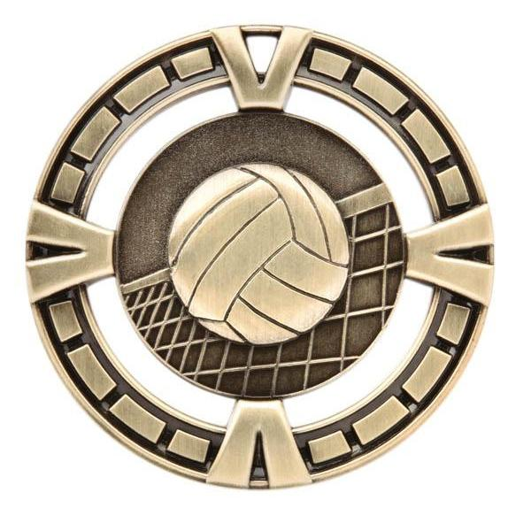 "Medal Sport 2.5"" Volleyball-D&G Trophies Inc.-D and G Trophies Inc."