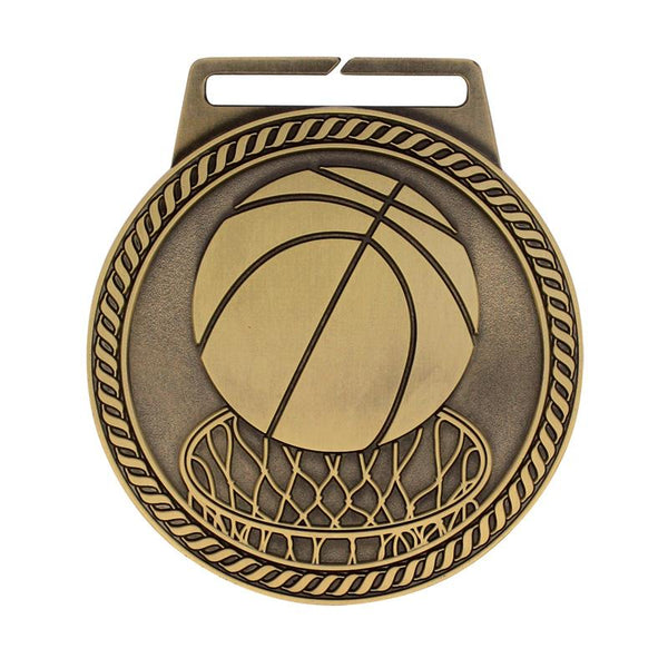 "Medal Titan Basketball 3"" Dia.-D&G Trophies Inc.-D and G Trophies Inc."
