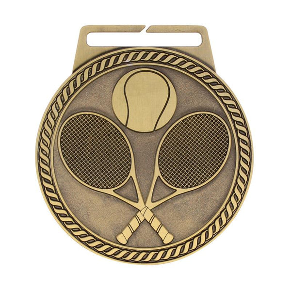 "Medal Titan Tennis 3"" Dia.-D&G Trophies Inc.-D and G Trophies Inc."