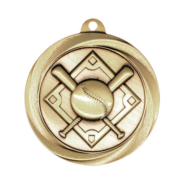 "Medal Vortex 2"" Baseball-D&G Trophies Inc.-D and G Trophies Inc."
