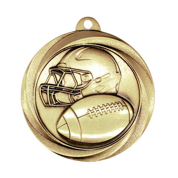 "Medal Vortex 2"" Football-D&G Trophies Inc.-D and G Trophies Inc."