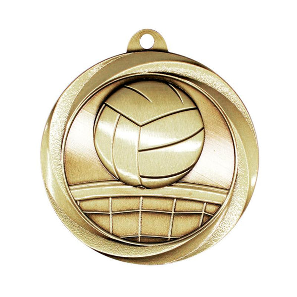 "Medal Vortex 2"" Volleyball-D&G Trophies Inc.-D and G Trophies Inc."
