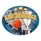 Oval Dome Insert, Full Colour Lacrosse-D&G Trophies Inc.-D and G Trophies Inc.