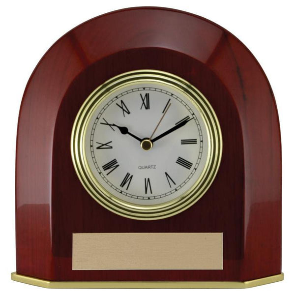 oval elliptical edge clock giftware-D&G Trophies Inc.-D and G Trophies Inc.