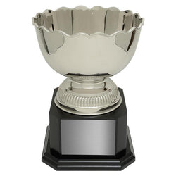 perth bowl nickel plated brass-D&G Trophies Inc.-D and G Trophies Inc.