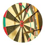 "Photo Insert, Darts 1""-D&G Trophies Inc.-D and G Trophies Inc."