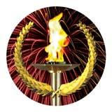 "Photo Insert, Victory Torch 1""-D&G Trophies Inc.-D and G Trophies Inc."