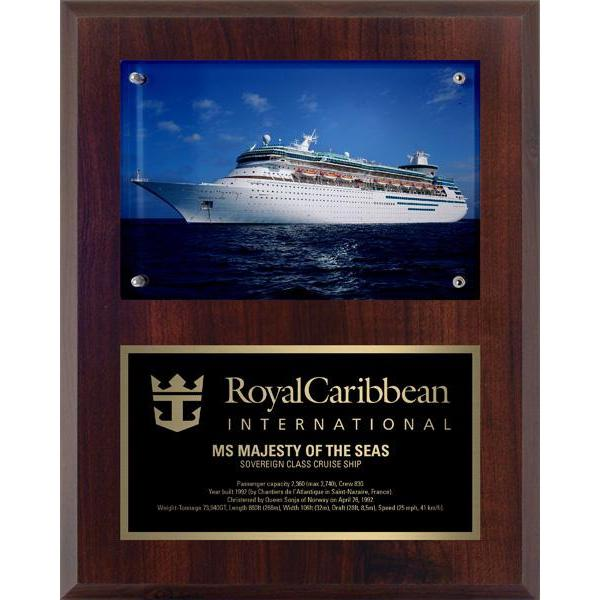 Photo Plaque (Surface mount)-D&G Trophies Inc.-D and G Trophies Inc.