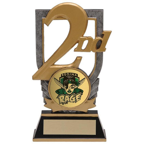 placing insert holder resin trophy-D&G Trophies Inc.-D and G Trophies Inc.