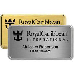Rectangle Badge Holder Name Badges & Lapel Pin-D&G Trophies Inc.-D and G Trophies Inc.