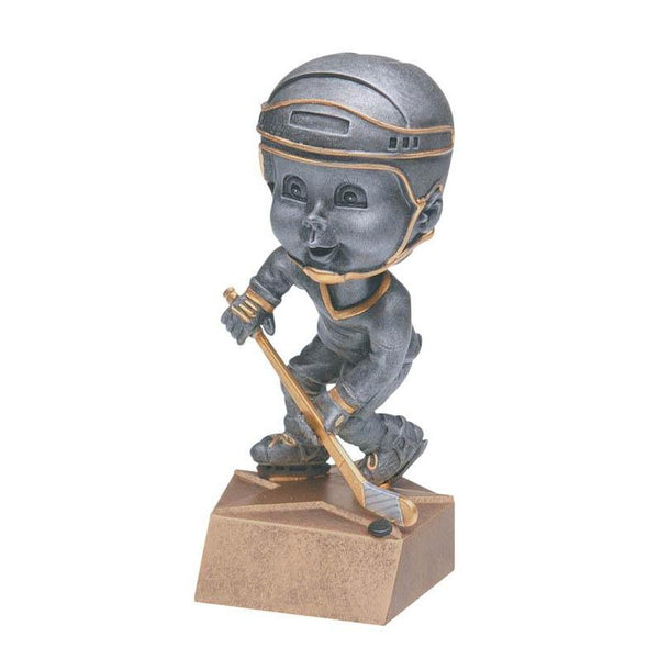 "Resin - Bobblehead Male Hockey 5.75""-D&G Trophies Inc.-D and G Trophies Inc."