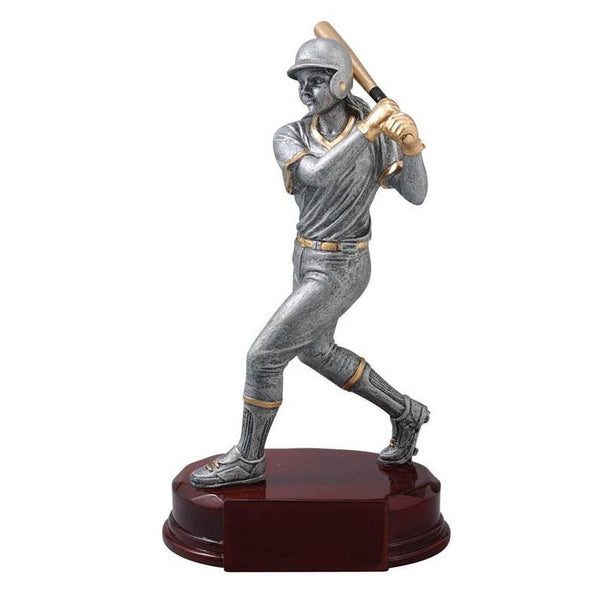 "Resin Classic Female Softball 8""-D&G Trophies Inc.-D and G Trophies Inc."