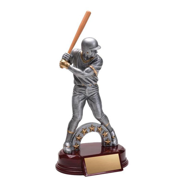 "Resin Classic Male Baseball 10""-D&G Trophies Inc.-D and G Trophies Inc."