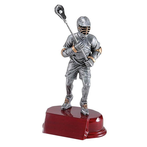 "Resin Classic Male Lacrosse 8.5""-D&G Trophies Inc.-D and G Trophies Inc."