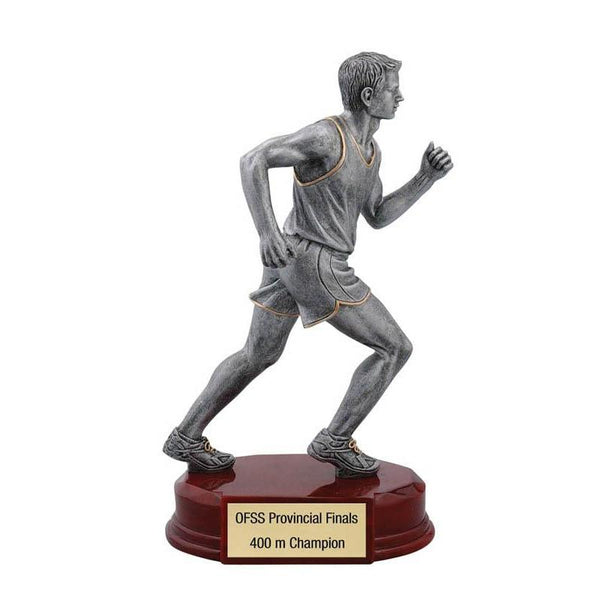 "Resin Classic Male Track 8""-D&G Trophies Inc.-D and G Trophies Inc."