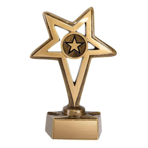 Resin Europa Stars-D&G Trophies Inc.-D and G Trophies Inc.