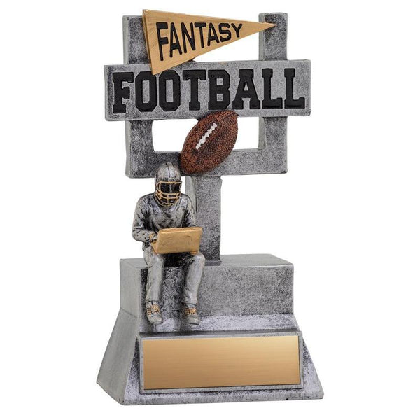 "Resin Fantasy Football 7""-D&G Trophies Inc.-D and G Trophies Inc."