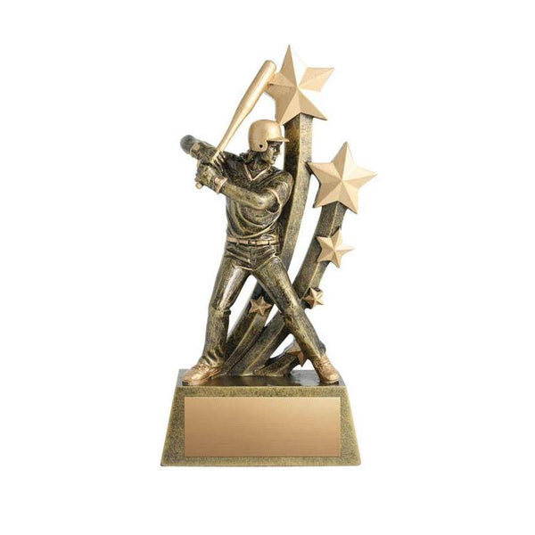 Resin Sentinel Female Softball-D&G Trophies Inc.-D and G Trophies Inc.