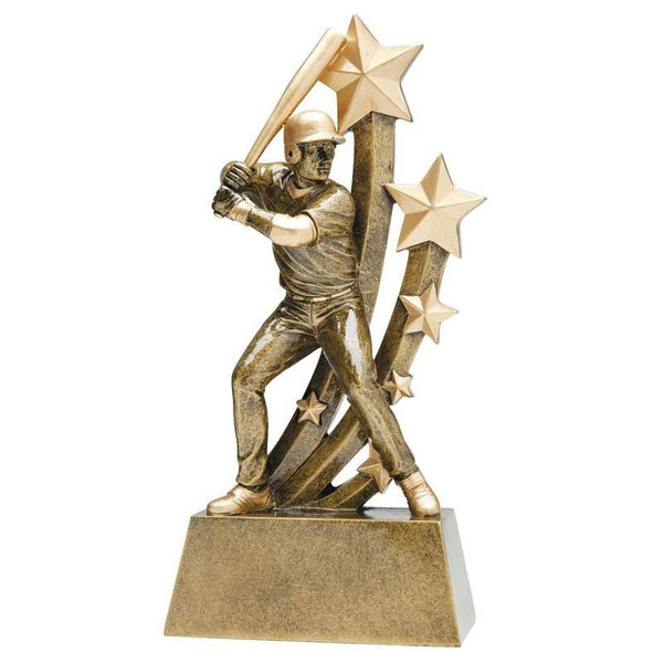 Resin Sentinel Male Baseball-D&G Trophies Inc.-D and G Trophies Inc.