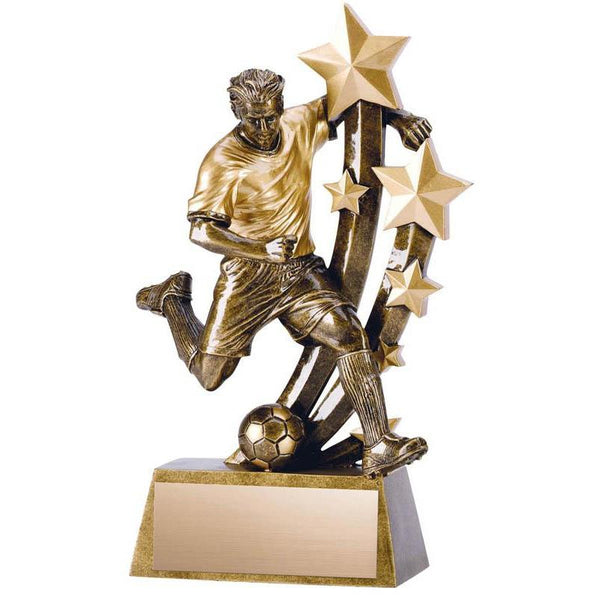 Resin Sentinel Male Soccer-D&G Trophies Inc.-D and G Trophies Inc.