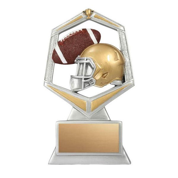 Resin Spirit Football-D&G Trophies Inc.-D and G Trophies Inc.