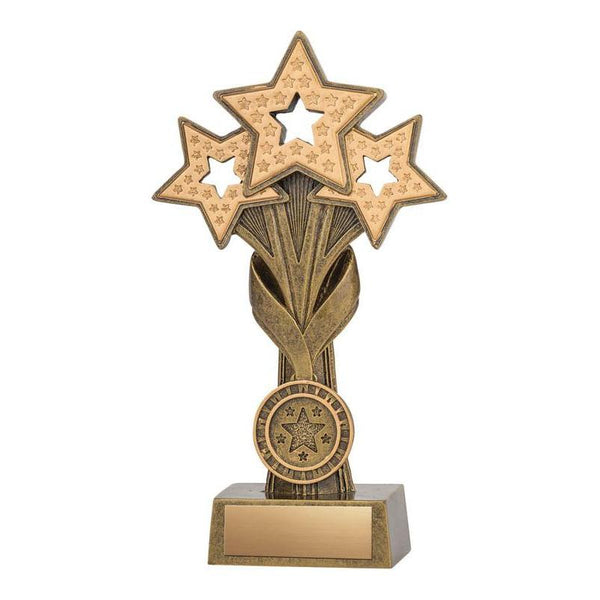 Resin Star Cascade-D&G Trophies Inc.-D and G Trophies Inc.