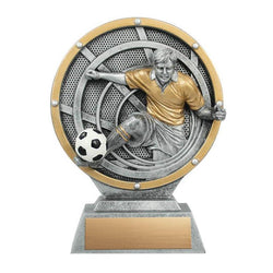Resin Vortex Male Soccer-D&G Trophies Inc.-D and G Trophies Inc.