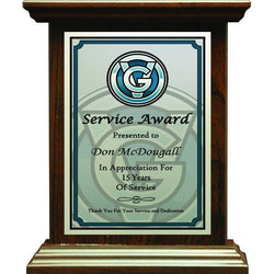 roman style plaque laminate plaque-D&G Trophies Inc.-D and G Trophies Inc.