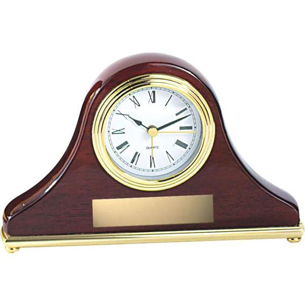 rosewood mantle clock giftware-D&G Trophies Inc.-D and G Trophies Inc.